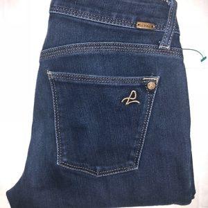 DL1961 angel skinny jeans stretch 26